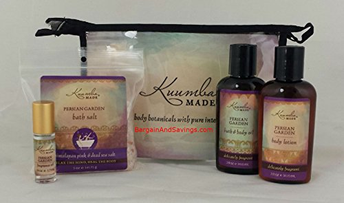 Kuumba Made Four 4 Treasures Collection Gift Set Persian Garden