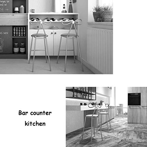 Barstol frukoststol kök barstolar | frukostmatstolar | barstol med ryggstöd | Hushållsbarstolar | kaffepallar | bänkbarstolar | Hög pall (storlek: Säteshöjd: 75 cm)