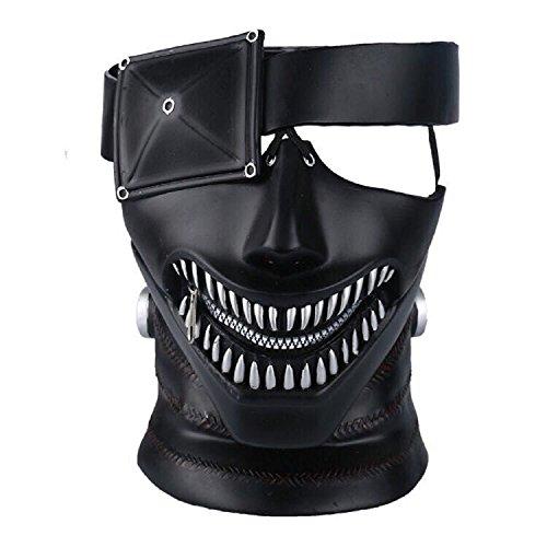 xxf Anime Tokyo Ghoul Mask, Kaneki Ken Mask,3D Mask Japan Cosplay (60's Ken Costume)
