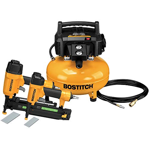 Reconditioned 2 Piece Nailer and Compressor Combo Kit ()