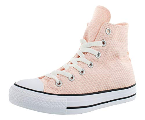 and Classic Chuck White High Casual in Uppers and Pink Top Vapor All Star Unisex Taylor Converse Color Sneakers Style Canvas Durable qUnpC54p6