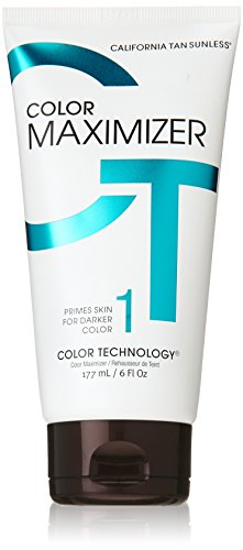 Color Lotion - California Tan Color Maximizer Lotion Sunless, 6 Ounce