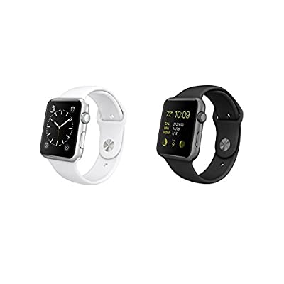Apple Watch Sport 38mm Space Gray/Black or Silver/White (Certified Refurbished)