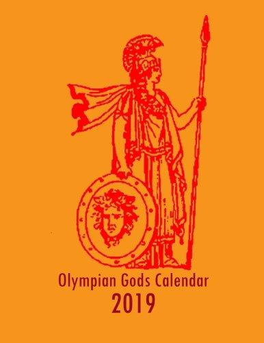 Olympian Gods Calendar 2019