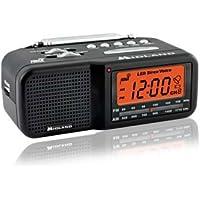 TRUE NIGHTVISION MIDLAND AM/FM CLOCK RADIO COVERT CAMERA/DVR WITH WEATHER BAND ALERT
