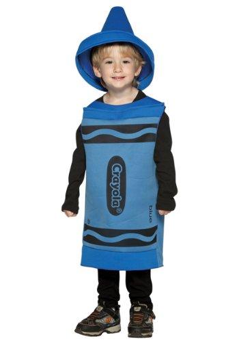 Rasta Imposta Crayola Toddler Costume, Blue, (Crayon Costume Toddler)