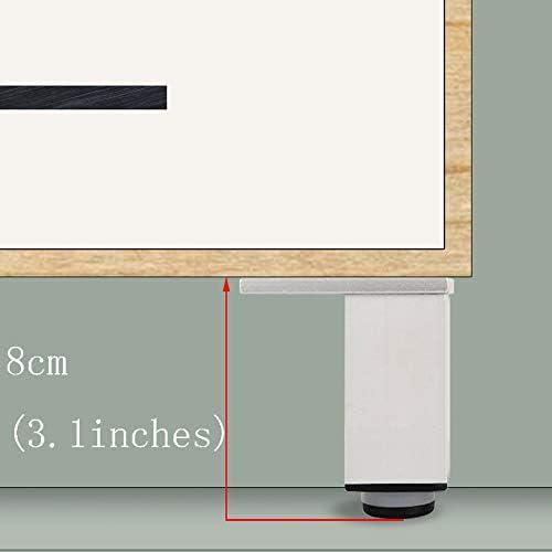 家具の脚、調整可能なコーヒーテーブルの足のベッドの足のテレビキャビネットの足のサポート足のアルミニウム合金の四角形