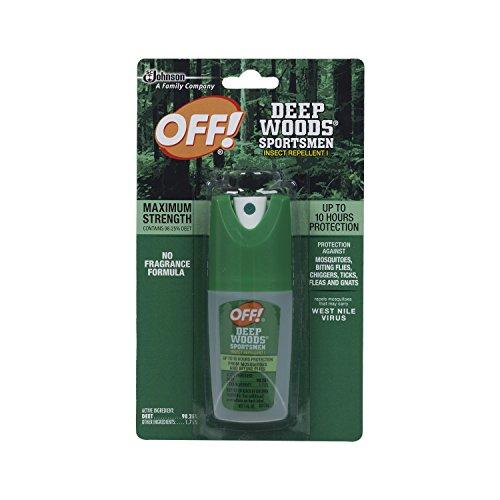 1 Ounce Aerosol (Off! Deep Woods Sportsmen Spritz  1-Ounce Bottles (Pack of 12))