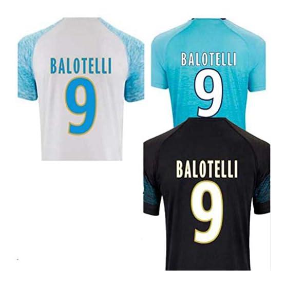 2019 for Marseille Maillot de Foot T-Shirts Balotelli Payet L.Gustavo THAUVIN 18 19 Camiseta de Futbol Shirts