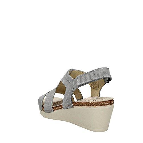 Sandalo P Se0181 Grigio Dome Grunland Donna YqzZaWw