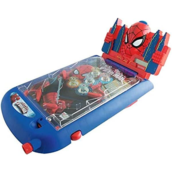 Amazon.es: IMC Toys Mesa de Pinball con luces y sonidos, Spiderman ...