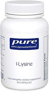 Pure Encapsulations - l-Lysine - Hypoallergenic Supplement Helps Maintain Healthy Arginine Levels and Immune Function* - 90 Capsules