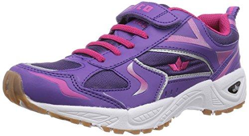 LicoBernie VS - Zapatillas Deportivas para Interior Niñas Morado - Violett (lila/pink)