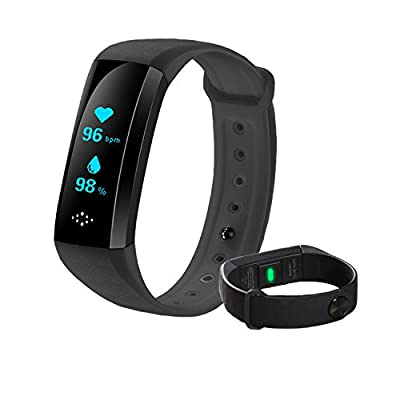 coolbit Smart Band, Activity Health Tracker Smart Bracelet w/Heart Rate Blood Pressure Oxygen Monitor Fitness Tracker Pedometer Calories Track Notification Remind Wristband for Android and iOS Phones