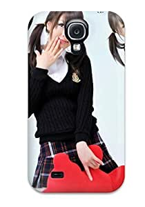 For Galaxy S4 Protector Case Chinese School Girls Phone Cover