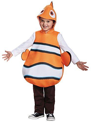 BESTPR1CE Boys Halloween Costume-Nemo Classic Kids Costume -