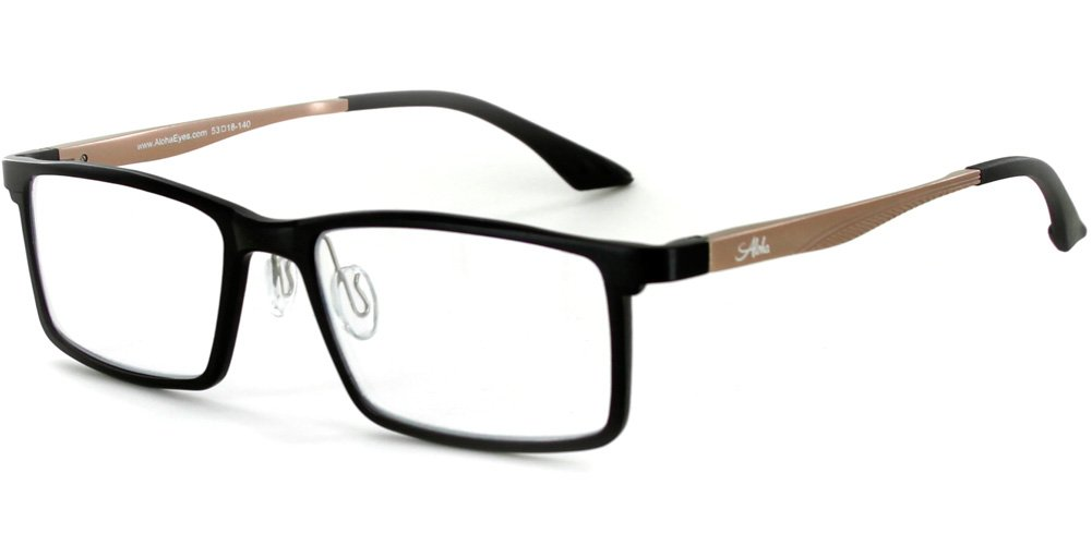 Amazon.com: Alumni RX04 Optical-Quality Reading Glasses with RX-Able ...