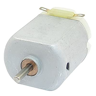 6300-23000RPM DC Motor - TOOGOO(R)6300-23000RPM 3-6V High Torque Magnetic Electric Mini DC Motor Silver