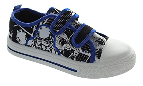 StarWars ,  Jungen Sneaker Low-Tops , blau - blau - Größe: 31 EU Kinder