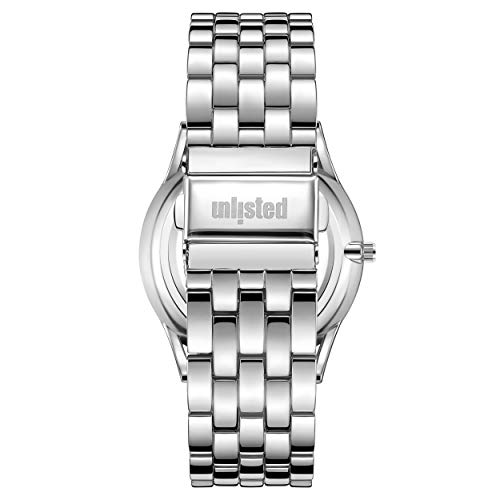 Kenneth Cole Unlisted Men's 3 Hand Silvertone Watch
