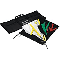 Westcott 1957 Fast Flags 24 x 36 Inches Fast Flag Kit (Black)