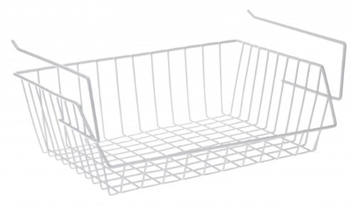 Quantio Schrankkorb Zum Einhangen Metall Weiss Regalkorb