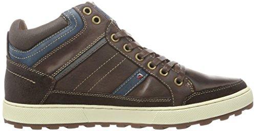 Wrangler Alte Marrone Brown 30 Dk Uomo Sneaker Bruce Mid rvBgr