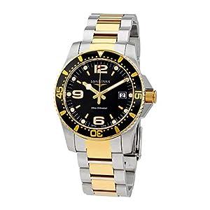 Longines Reloj Hidroconquista Cuarzo Negro Oro Dial 4