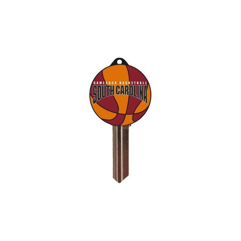 WB Keys UN15302 KW10 South Carolina Gamecocks Basketball Glove Keychain KW10  Pack of 4