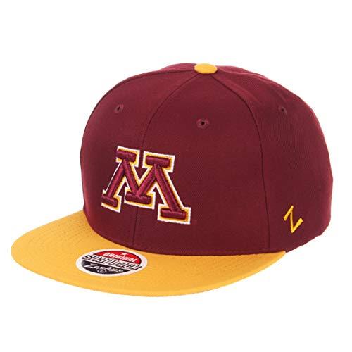 Minnesota Golden Gophers College Baseball - NCAA Minnesota Golden Gophers Men's Z11 Invert Snapback Hat, Adjustable, Burgundy