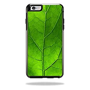 MightySkins Protective Vinyl Skin Decal Cover for OtterBox Symmetry iPhone 6/6S Plus Case Cover Sticker Skins Green Leaf