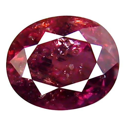 1.00 ct Oval Cut (6 x 5 mm) Unheated/Untreated Reddish Pink Sapphire Natural Genuine Loose Gemstone