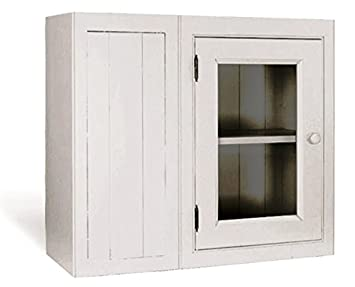 Kitchen Units Kitchen Wall Unit Blind Corner 800mm W 1 Glass Door