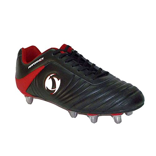 Katana Noir Samurai rouge Rugby De Chaussures Junior p1XXq6d