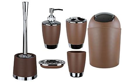 Set de 6 accesorios para el cuarto de baño GMMH, para cepillos de ...