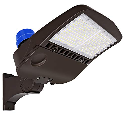 Hykolity 150W LED Parking Lot Light with...