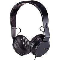 House of Marley EM-JH081-BK The Roar On-Ear Headphones, Black