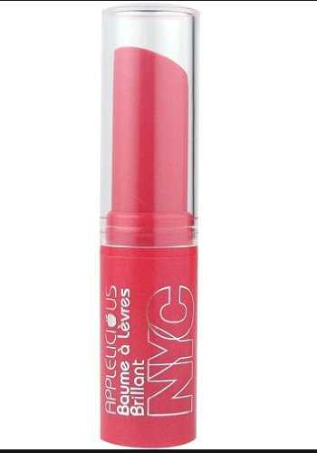 NYC New York Color Applelicious Glossy Lip Balm ~ Apple Plum Pie - 3.5g/0.12oz Plum Makeup