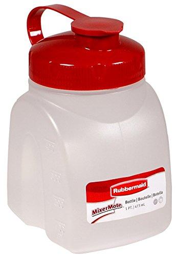Rubbermaid Servin Saver White Bottle 1 Pt. (Servin Saver Bottle)