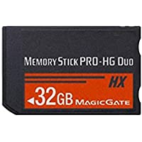 32GB High Speed MS Memory Stick Pro Duo Card Storage for Sony PSP 1000/2000/3000 Game Console