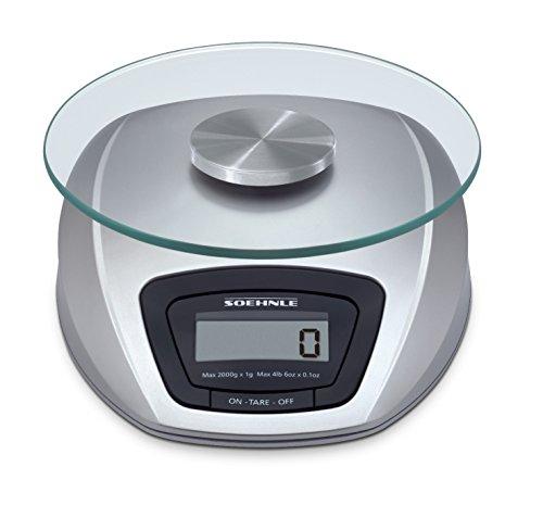 Soehnle 658401 digitale Küchenwaage Siena