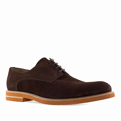 Oxford Machado Chaussures Style Marron Grandes Spain Andres 50 Cuir pour au Pointures Hommes Made 6188 in du 47 I4wgxEqdF