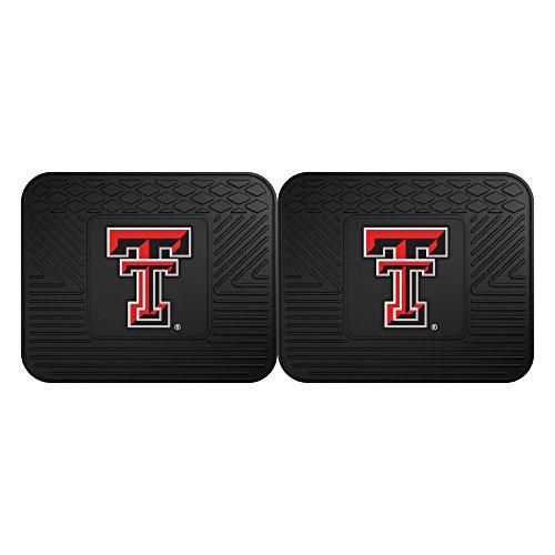 FANMATS 12272 Texas Tech University Utility Mat - 2 Piece