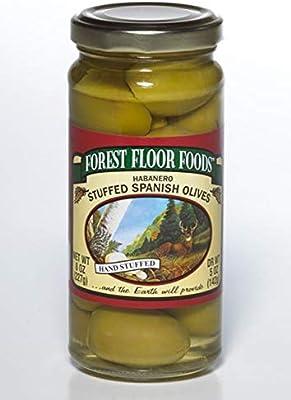 Amazon Com Forest Floor Foods Habanero Stuffed Queen Olive