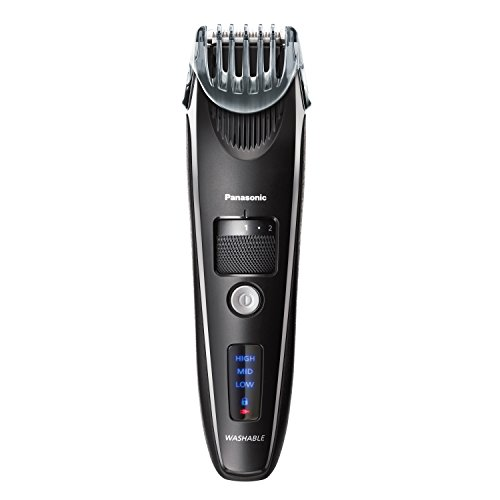 Panasonic Beard Trimmer for Men ER-SB40-K, Cordless/Corded Precision Power, Hair Clipper with Comb Attachment and 19 Adjustable Settings, Wet/Dry Use (Best Vacuum Beard Trimmer)