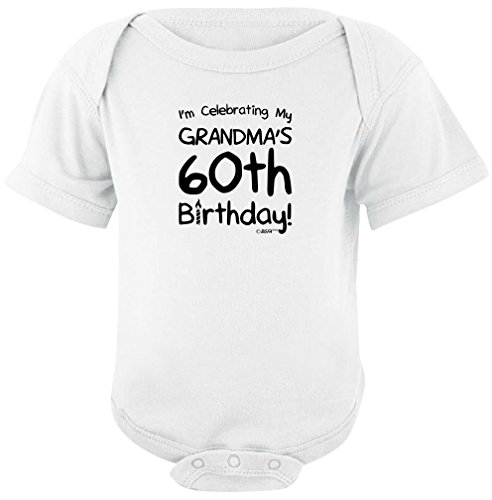 Baby Gifts For All Celebrating My Grandmas 60th Birthday Bodysuit