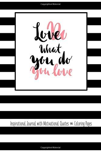 Amazon.com: Do What You Love Love What You Do Inspirational ...