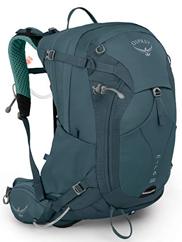 Osprey Packs Mira 22 Women's Hydration Pack, Bahia Blue, One Size
