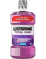 Listerine Total Care Mouthwash, Fluoride Mouthwash for Bad Breath, Helps Keep Teeth White, 1.5L
