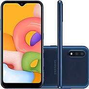 Smartphone Samsung Galaxy A01, 32GB - Azul